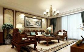 155平三居设计 中式设计案例
