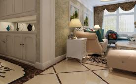 130平欧式设计 三居装修案例