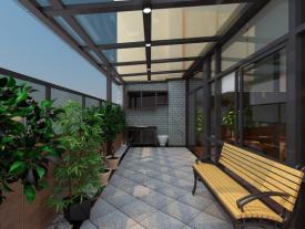 凯茵新城别墅中式风格装修效果图