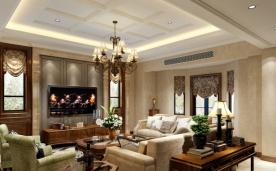 600平别墅设计 现代美式装修