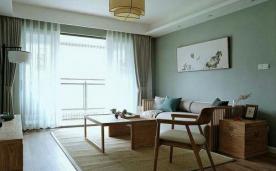 96平小两居中式风格 淡泊雅致案例