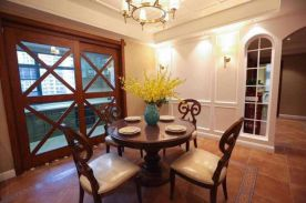 169平新美式家装设计效果案例