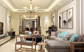 158平 新中式家居装修风格案例欣赏