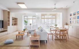 90平日式 宁静致远 风格家居装修案例欣赏