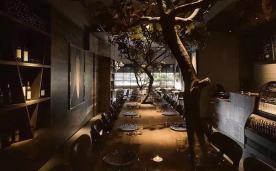 深沉自然餐厅装修效果欣赏