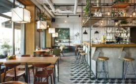 工业区风格酒吧餐厅结合装修案例欣赏