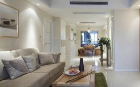 105平 简约美式阳光小三居 装修设计效果案例欣赏