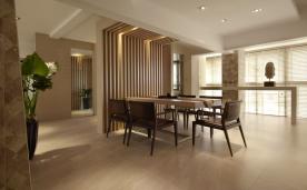 安逸儒雅 创意中式风情三居装修效果案例赏析