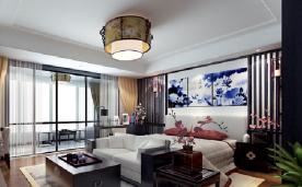 300平大别墅新中式风格家居装修案例