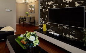 浪漫唯美半岛 现代简约风格家居装修案例欣赏
