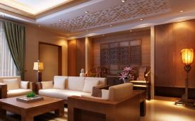 240平 东方之家 现代简约中式风格家装设计效果欣赏