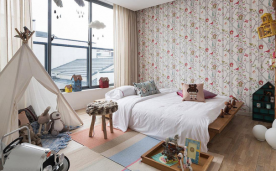 三居别墅设计 现代简约装修效果案例分享