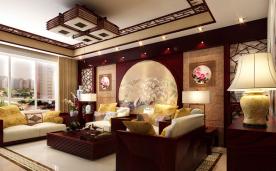 中式 现代皇宫意境之美 装修效果案例欣赏