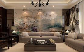 现代新中式结合 花絮之家 装修效果案例赏析