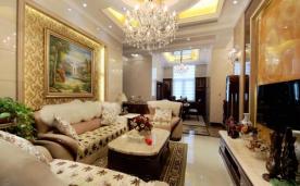 170平 跃层挑高公寓欧式风格 家装效果实景展示
