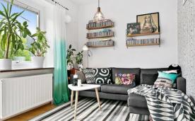 小户型北欧清新公寓设计效果赏析