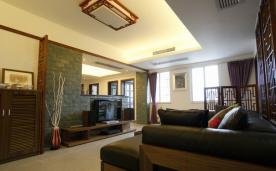 两居室现代中式风格实景效果欣赏