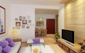 三居室现代简约风格装修案例赏析