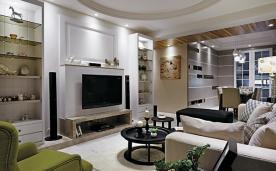 浪漫法式摩登家居 风格装修效果案例欣赏
