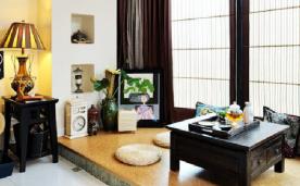 我的110平米混搭家居 装修效果案例欣赏