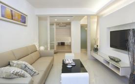 98平简约老公房实木家装之家 风格装修设计案例效果