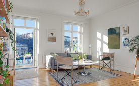 春风又绿江南岸 北欧风情两居风格设计装修效果案例欣赏