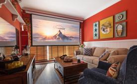 红色主题美剧之家 装修设计案例效果欣赏