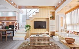 北欧家居 小清新别墅范 装修设计效果案例实景分享