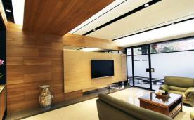 现代风温润感两居 风格装修设计案例效果