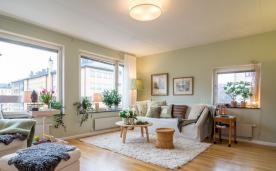 76平自然风格公寓 装修设计案例效果欣赏