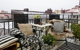 80平自然系北欧花草住宅 80平北欧家居装修设计效果案例欣赏