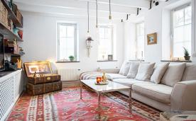 怀旧复古风公寓装修 复古公寓风格家装设计效果案例欣赏