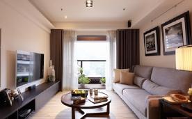 80平米两房一厅现代风设计 80平现代风格装修效果图欣赏