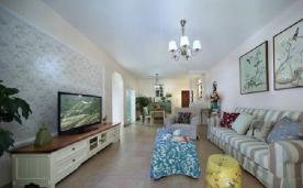 简约美式两居室装修 美式两居简约装修设计效果图欣赏