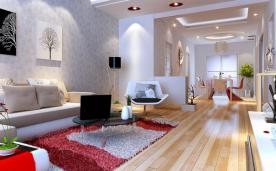 106平三居室简约装修 106平简约风格家居装修效果图案例