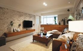 128平北欧田园温馨公寓装修 128平北欧田园风格装修设计效果图欣赏