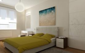 简约两居室质感十足公寓装修 简约两居装修设计案例效果图欣赏