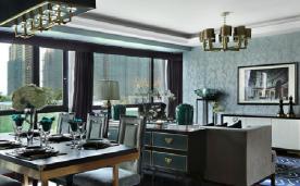 130平典雅端庄的新古典格调居室装修 130平新古典风格装修设计效果图欣赏