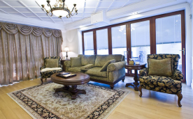 136平米美式三居装修 136平三居美式风格装修设计效果案例欣赏