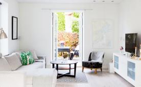自然系纯白公寓装修 纯白系北欧装修设计效果图欣赏