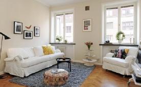清新的北欧小公寓装修 北欧小公寓装修设计效果图赏析