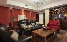 150平四居室装修 150平四居混搭风格装修设计效果图欣赏