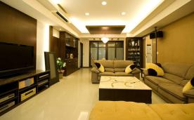 165平米实用功能宅居装修 165平现代简约装修设计效果图欣赏