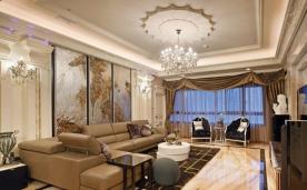 新古典四室两厅装修 新古典四居装修设计效果图欣赏