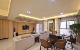 三室大平层公寓装修 三居简约风格装修设计效果图欣赏