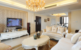 大方雅致欧式风格装修 欧式家居风格装修设计效果图欣赏