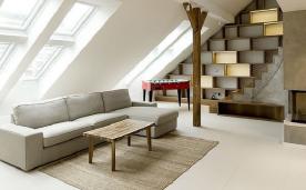 简约独特阁楼公寓装修 阁楼公寓风格装修设计效果图赏析
