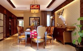 中式别墅大气之家装修 中式别墅风格装修设计效果图欣赏
