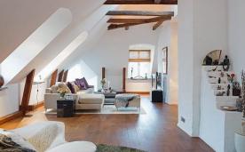 北欧风阁楼公寓装修 北欧风格公寓装修设计效果图欣赏