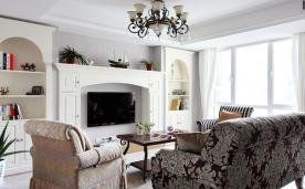 轻美式新婚房家居装修 轻美式婚房装修设计效果图赏析